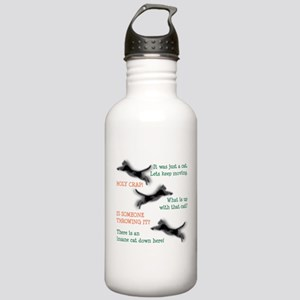 Insane Cat Stainless Water Bottle 1.0L