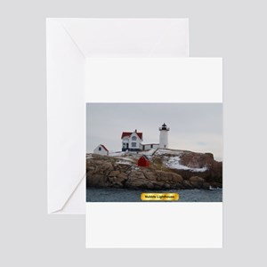 Nubble Lighthouse Greeting Cards