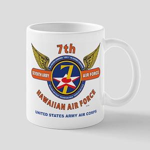 7TH ARMY AIR FORCE*HAWAIIAN AIR FORCE W Mug