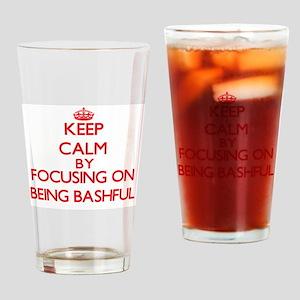 Being Bashful Drinking Glass