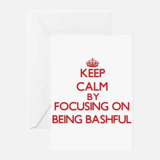 Being Bashful Greeting Cards
