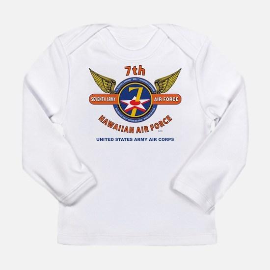 7TH ARMY AIR FORCE*HAWAIIAN AI Long Sleeve T-Shirt