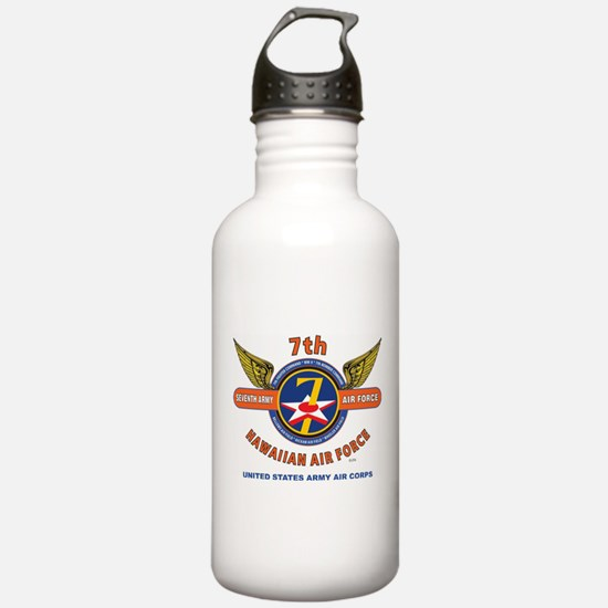 7TH ARMY AIR FORCE*HAW Water Bottle