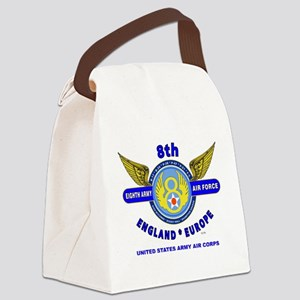 8TH ARMY AIR FORCE*ARMY AIR CORPS Canvas Lunch Bag