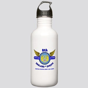 8TH ARMY AIR FORCE*ARM Stainless Water Bottle 1.0L