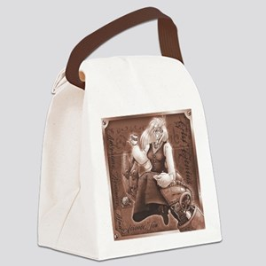 Mad Teatime Canvas Lunch Bag
