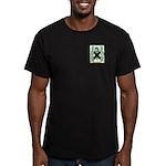 Gurkin Men's Fitted T-Shirt (dark)