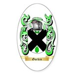 Gurkin Sticker (Oval)