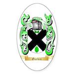 Gurkin Sticker (Oval 10 pk)