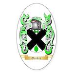 Gurkin Sticker (Oval 50 pk)