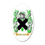 Gurkin 35x21 Oval Wall Decal