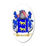 Gure 35x21 Oval Wall Decal