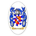 Gunthorpe Sticker (Oval 50 pk)