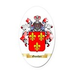 Gunther Oval Car Magnet