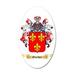 Gunther 35x21 Oval Wall Decal