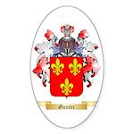 Gunter Sticker (Oval 50 pk)