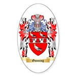 Gunning Sticker (Oval 50 pk)