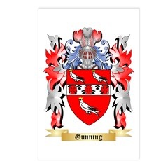 Gunning Postcards (Package of 8)