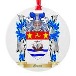 Gunn Round Ornament