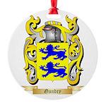 Gundry Round Ornament