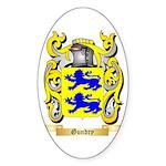 Gundry Sticker (Oval 50 pk)