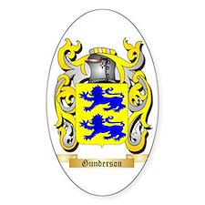 Gunderson Sticker (Oval)