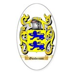 Gunderson Sticker (Oval 50 pk)
