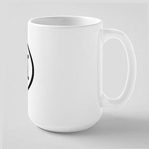 CUH Oval Large Mug