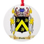 Gunda Round Ornament