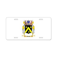 Gunda Aluminum License Plate
