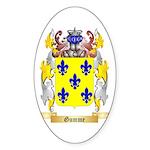 Gumme Sticker (Oval 50 pk)
