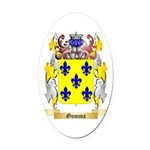 Gumma Oval Car Magnet