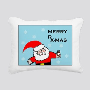 FUNNY CHRISTMAS DECOR Rectangular Canvas Pillow
