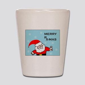 FUNNY CHRISTMAS DECOR Shot Glass