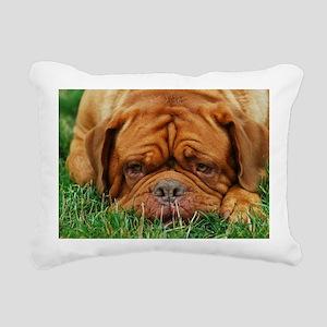 Artie Dogue Rectangular Canvas Pillow