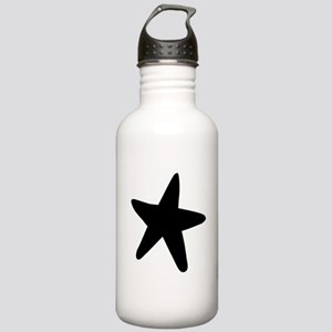 Starfish Silhouette Water Bottle
