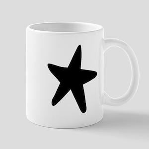 Starfish Silhouette Mugs