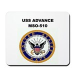 USS ADVANCE Mousepad