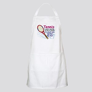 Tennis is a matter ... BBQ Apron