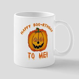 Happy Boorthday Halloween Birthday Mug