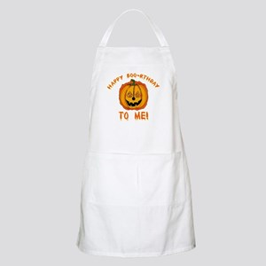 Happy Boorthday Halloween Birthday BBQ Apron