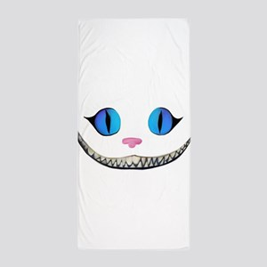 Invisible Cheshire Cat Beach Towel