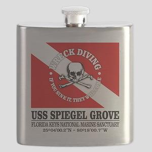 USS Spiegel Grove Flask