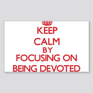 Being Devoted Sticker