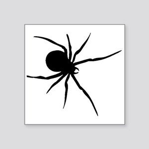 Black Widow Spider Silhouette Sticker