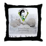 WMC Yin & Yang 2013 Throw Pillow