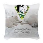 WMC Yin & Yang 2013 Woven Throw Pillow