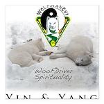 WMC Yin & Yang 2013 Square Car Magnet 3