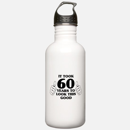 It Took 60 Years to Look This Good Water Bottle