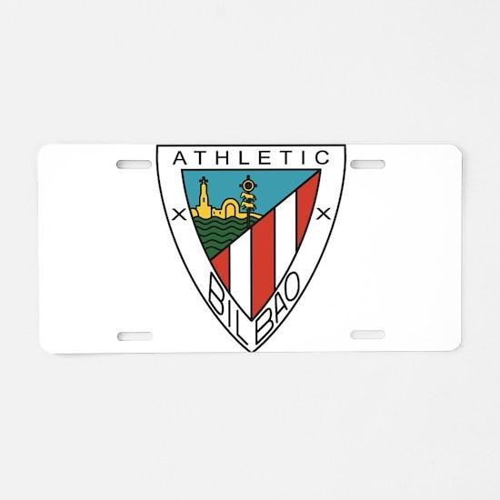 Cute Athletic Aluminum License Plate